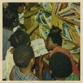 Children's books on bookmobile